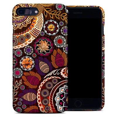 Apple iPhone 7 Plus Clip Case - Autumn Mehndi