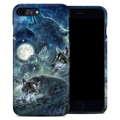 Apple iPhone 7 Plus Clip Case - Bark At The Moon