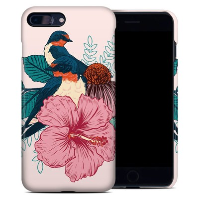 Apple iPhone 7 Plus Clip Case - Barn Swallows