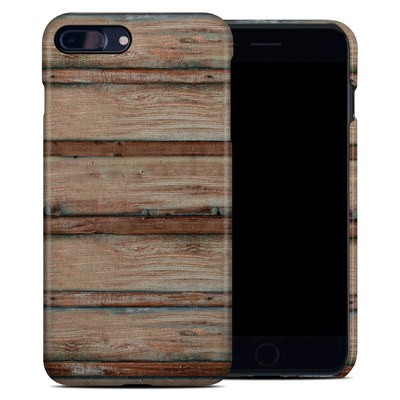 Apple iPhone 7 Plus Clip Case - Boardwalk Wood