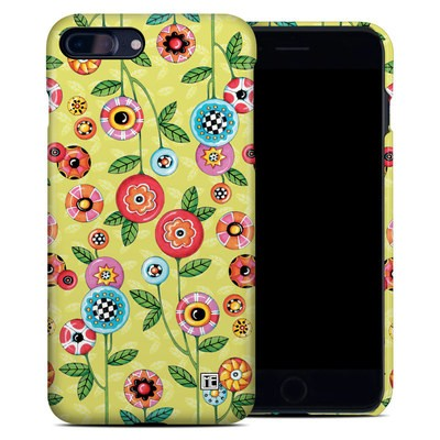 Apple iPhone 7 Plus Clip Case - Button Flowers