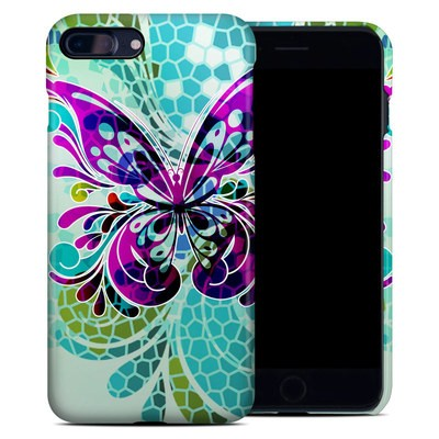 Apple iPhone 7 Plus Clip Case - Butterfly Glass