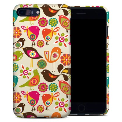 Apple iPhone 7 Plus Clip Case - Bird Flowers