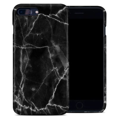 Apple iPhone 7 Plus Clip Case - Black Marble