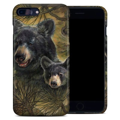 Apple iPhone 7 Plus Clip Case - Black Bears