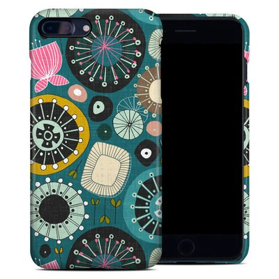 Apple iPhone 7 Plus Clip Case - Blooms Teal