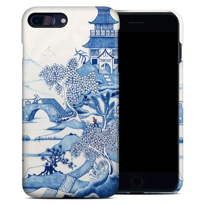 Apple iPhone 7 Plus Clip Case - Blue Willow