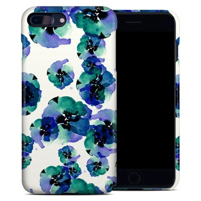 Apple iPhone 7 Plus Clip Case - Blue Eye Flowers