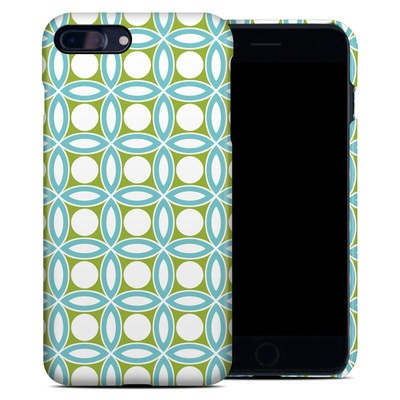 Apple iPhone 7 Plus Clip Case - Blue Geo