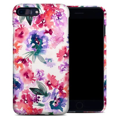Apple iPhone 7 Plus Clip Case - Blurred Flowers