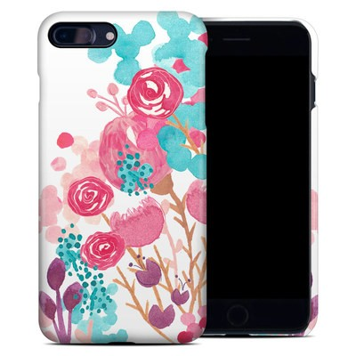 Apple iPhone 7 Plus Clip Case - Blush Blossoms