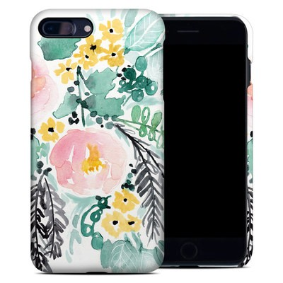 Apple iPhone 7 Plus Clip Case - Blushed Flowers