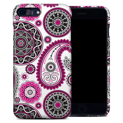 Apple iPhone 7 Plus Clip Case - Boho Girl Paisley