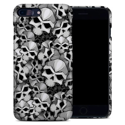 Apple iPhone 7 Plus Clip Case - Bones