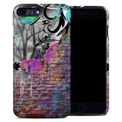 Apple iPhone 7 Plus Clip Case - Butterfly Wall