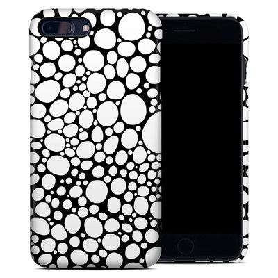 Apple iPhone 7 Plus Clip Case - BW Bubbles