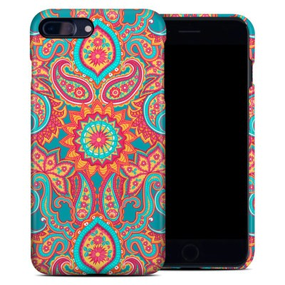 Apple iPhone 7 Plus Clip Case - Carnival Paisley