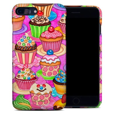 Apple iPhone 7 Plus Clip Case - Cupcake