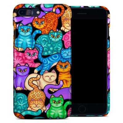 Apple iPhone 7 Plus Clip Case - Colorful Kittens