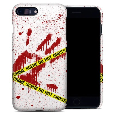 Apple iPhone 7 Plus Clip Case - Crime Scene Revisited
