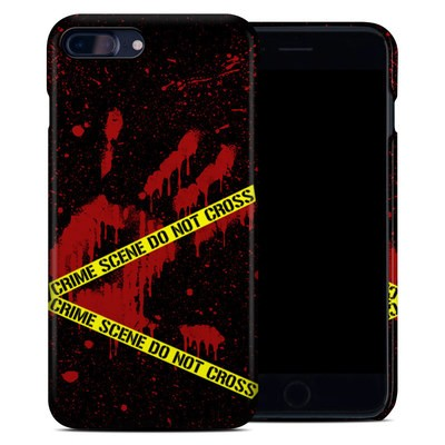 Apple iPhone 7 Plus Clip Case - Crime Scene