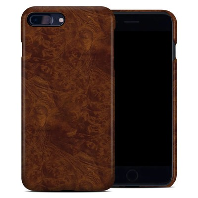 Apple iPhone 7 Plus Clip Case - Dark Burlwood