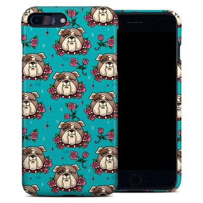 Apple iPhone 7 Plus Clip Case - Bulldogs and Roses