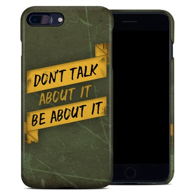 Apple iPhone 7 Plus Clip Case - Don't Talk