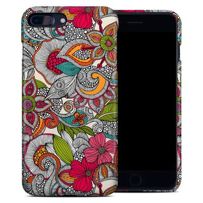 Apple iPhone 7 Plus Clip Case - Doodles Color