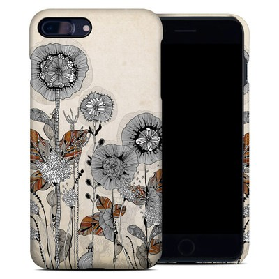 Apple iPhone 7 Plus Clip Case - Four Flowers