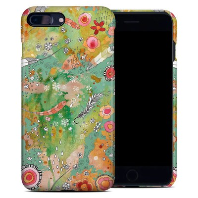 Apple iPhone 7 Plus Clip Case - Feathers Flowers Showers