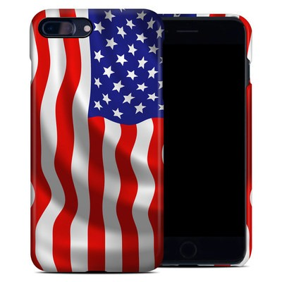 Apple iPhone 7 Plus Clip Case - USA Flag