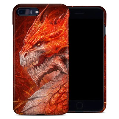 Apple iPhone 7 Plus Clip Case - Flame Dragon