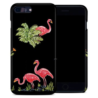 Apple iPhone 7 Plus Clip Case - Flamingos