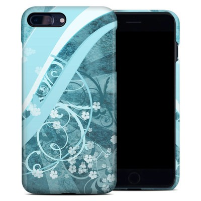 Apple iPhone 7 Plus Clip Case - Flores Agua