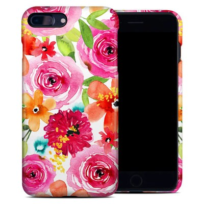 Apple iPhone 7 Plus Clip Case - Floral Pop