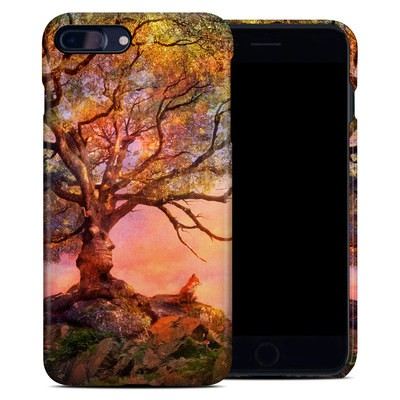 Apple iPhone 7 Plus Clip Case - Fox Sunset