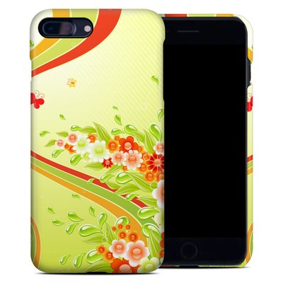 Apple iPhone 7 Plus Clip Case - Flower Splash