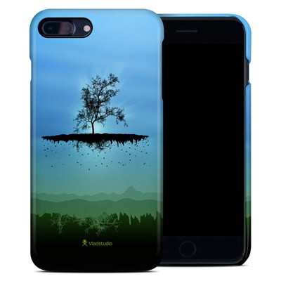 Apple iPhone 7 Plus Clip Case - Flying Tree Blue