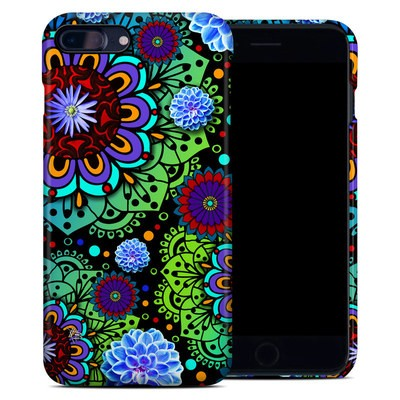 Apple iPhone 7 Plus Clip Case - Funky Floratopia