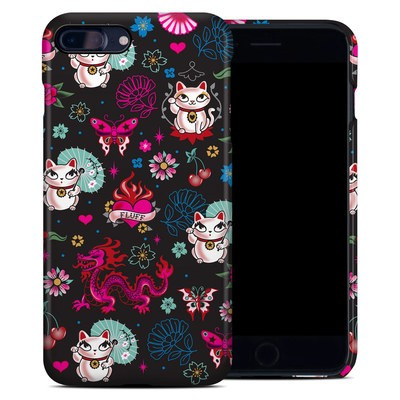 Apple iPhone 7 Plus Clip Case - Geisha Kitty