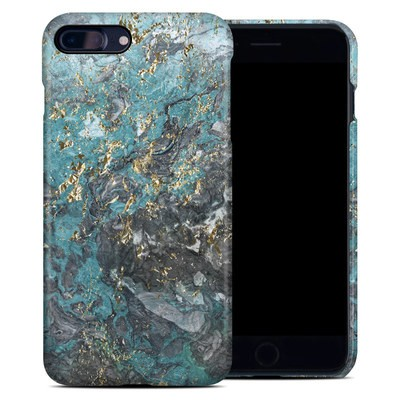 Apple iPhone 7 Plus Clip Case - Gilded Glacier Marble