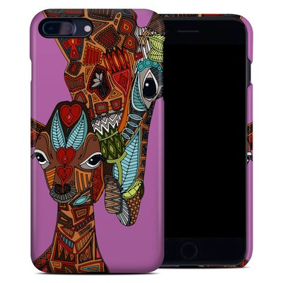 Apple iPhone 7 Plus Clip Case - Giraffe Love