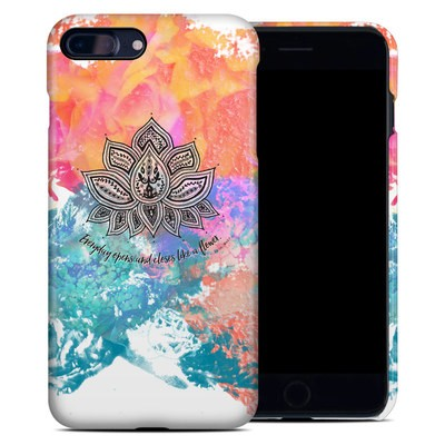 Apple iPhone 7 Plus Clip Case - Happy Lotus