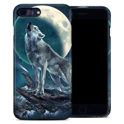 Apple iPhone 7 Plus Clip Case - Howling Moon Soloist