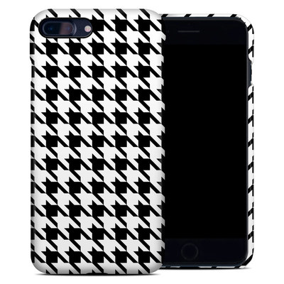 Apple iPhone 7 Plus Clip Case - Houndstooth