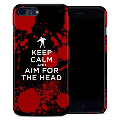 Apple iPhone 7 Plus Clip Case - Keep Calm - Zombie