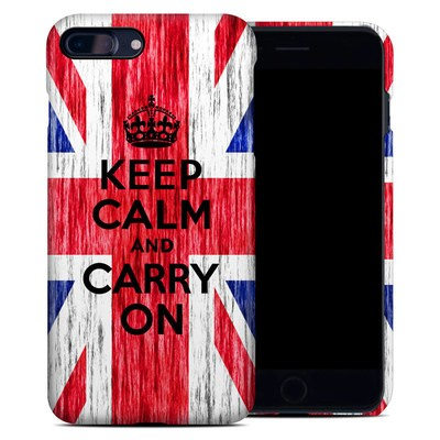 Apple iPhone 7 Plus Clip Case - Keep Calm - Grunge