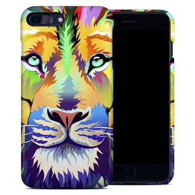 Apple iPhone 7 Plus Clip Case - King of Technicolor