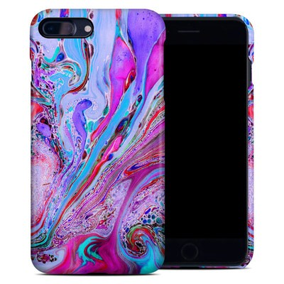 Apple iPhone 7 Plus Clip Case - Marbled Lustre